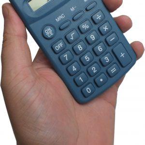 Calculatrice de poche détectable